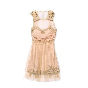 Rodarte for Target slip mini dress, peach size M